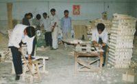 New Woodworking Shop at Shandan Bailie School