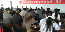 Extension of Cooperatives in Zhangye District, 2008-10