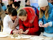 dumpling-making