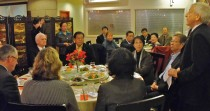 Auckland branch welcomes high-level delegation from Beijing