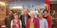 Justice of Peace Association Luncheon and Visit by Eric Livingstone, National President