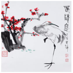 painting by Zhang Song Tao