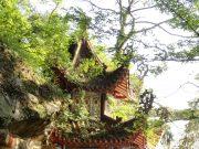 Walking around the top of Gushan, Fuzhou in Fujian province.