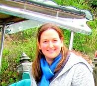 Deborah Robertson, one of the Youth Friendship Ambassadors, 2014