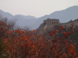 Autumn colours near the Great Wall