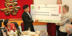 Christchurch branch Yunnan Earthquake appeal raises $5770