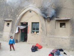 A Shaanxi cave dwelling, which is still lived in