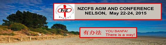 NZCFS AGM and Conference May 22-24 2015