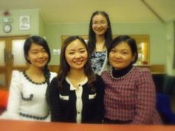 Sunny, Bonnie, Alyssa and Daisy