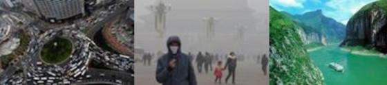 Envronmental Problems (traffic, smog, 3 Gorges)