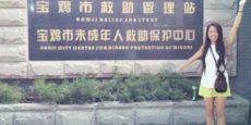 Volunteering with 'Xinxing Aid for Street Kids'