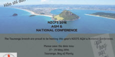 Reserve May 27 – 29 for the NZCFS National Conference + AGM