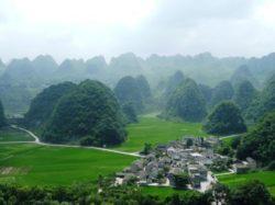Tim Guizhou village