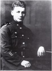 Rewi in uniform, 1916