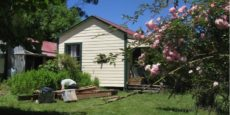 Rewi Alley's Whare [farmhouse] at Moeawatea, NZ
