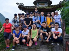 Hawkes Bay Youth Orchestra Group in Guilin 2016