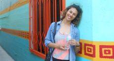 Michelle Elia starts teaching at Shandan Bailie School