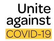 Unite against COVID-19 Logo
